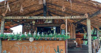 ร้านอาหาร รักษ์นา คาเฟ่ @ กงหรา พัทลุง